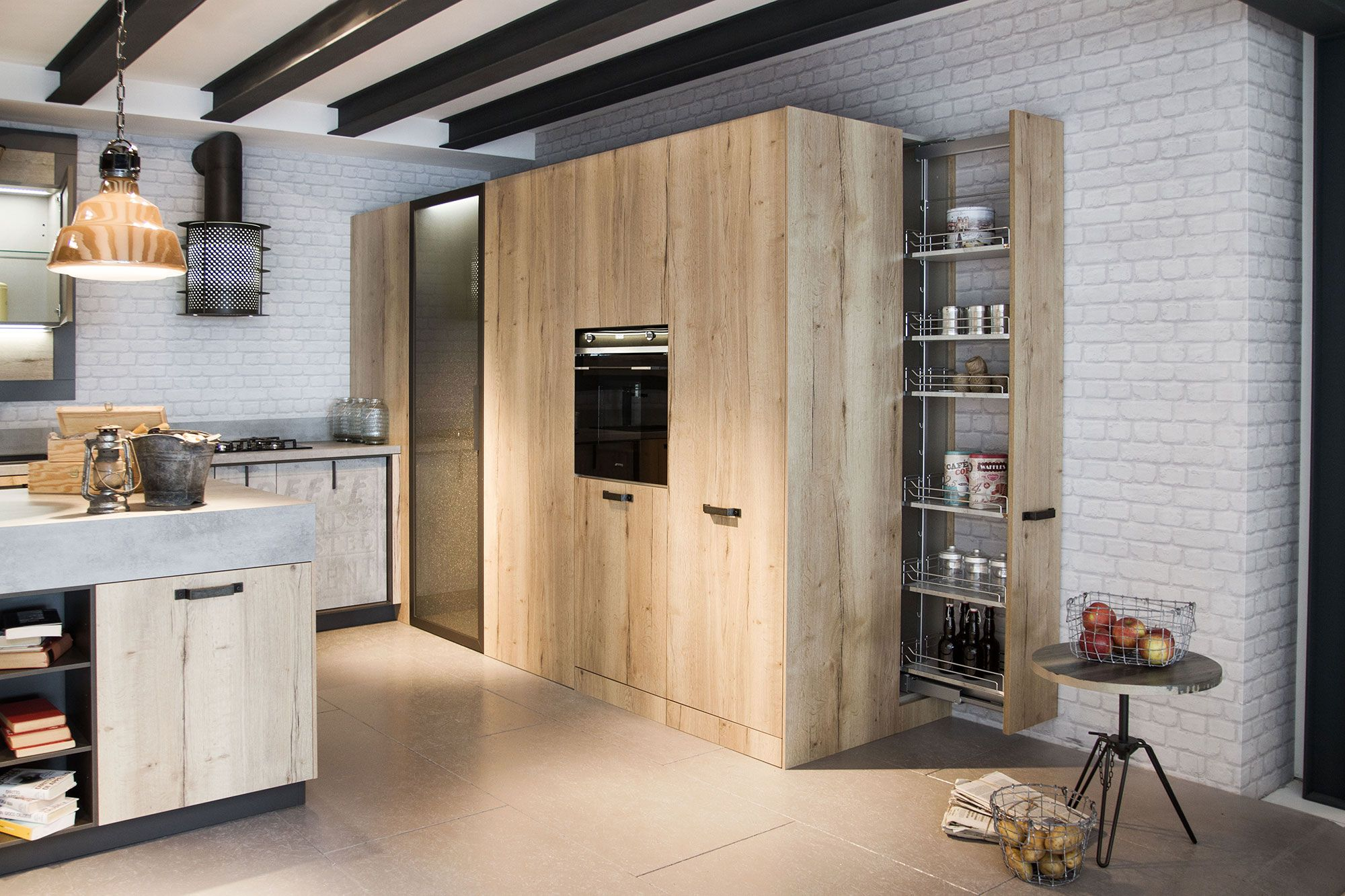 Loft | Collection System | Industrial Kitchens from Snaidero ...