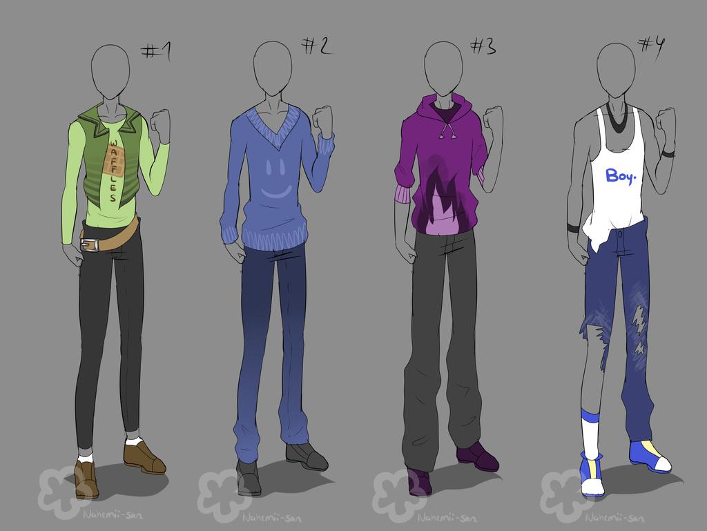 Guy Outfits taken 1/4 by on