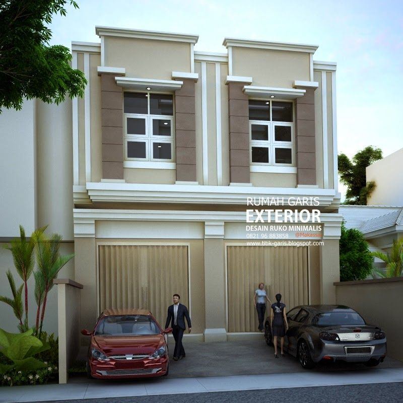 60 Desain Ruko 2 Lantai Minimalis Dan Modern Saat Ini Perkembangan Dunia Usaha Berkembang Pesat Banyak Orang Yang Memut Home Fashion Rumah Indah Arsitektur