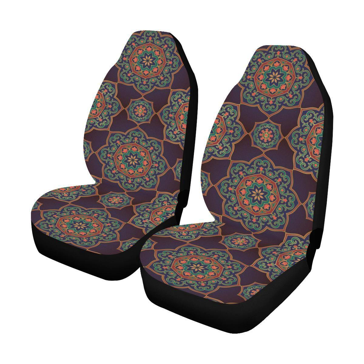 Medallion Pattern Print Design 03 Universal Fit Car Seat Covers Carseat Cover Car Seats Car Seat Cover Sets