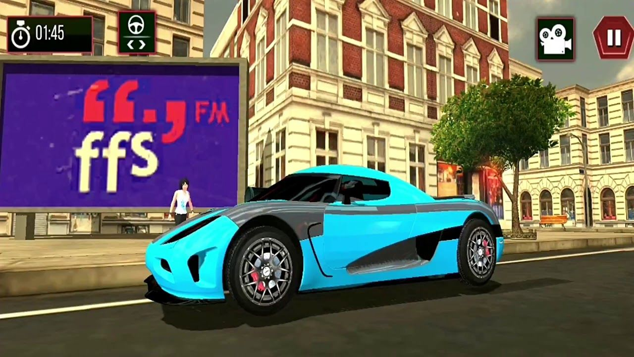 Mountain Car Drive 3d Hill Car Driving Game Android Gameplay Fhd Small Luxury Cars Car Driving Games