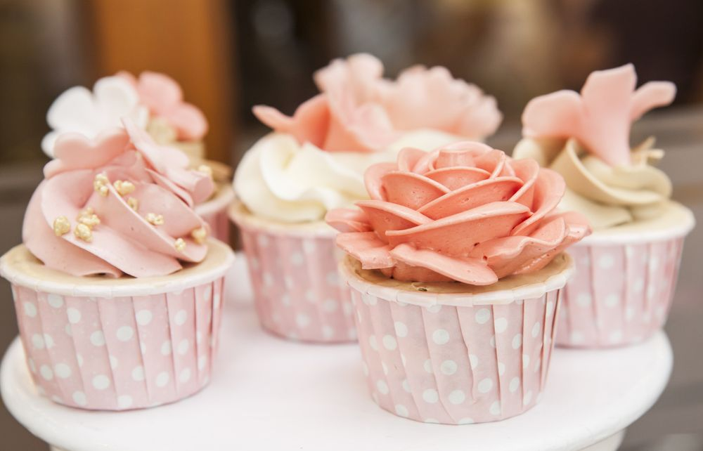 sample cupcakes from Sweet Shoppe of the South in Pigeon Forge