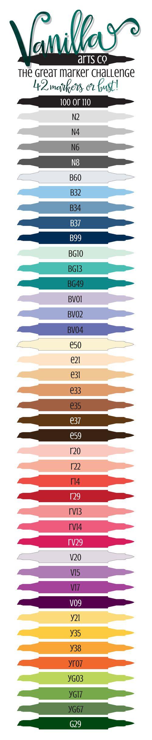 Coloring Marker Challenge