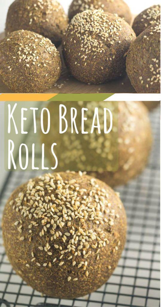 Low Carb / Keto Bread Rolls