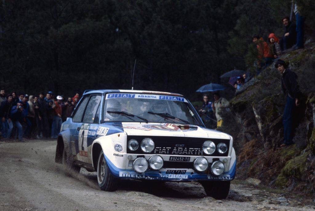Marku Alen Fiat 131 Abarth Gr 4 Wrc Rally School Http Www