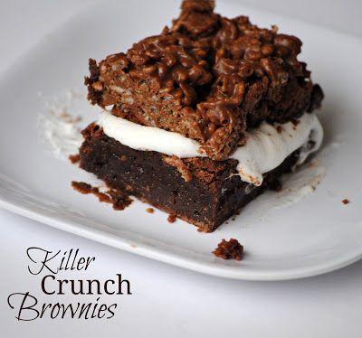 Killler Crunch Brownies