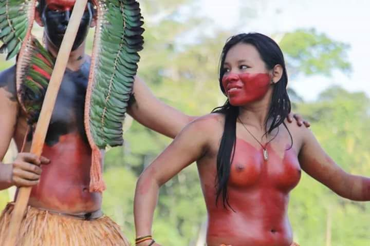 nude tribe of south america