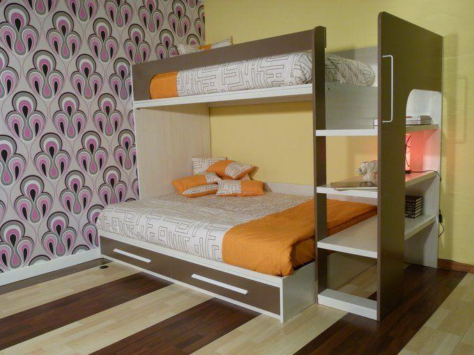Cama de matrimonio litera 3 plazas originales y - Dormitorios juveniles originales ...