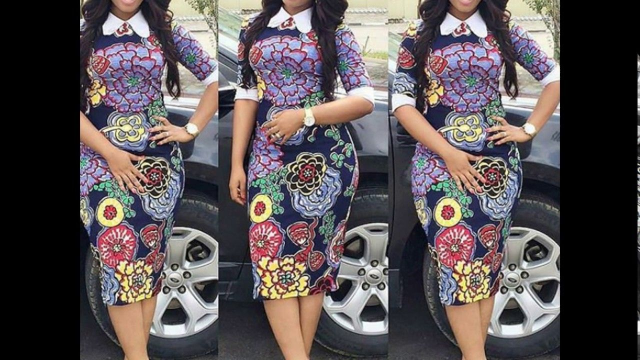 Collection of ankara short flare gowns for lovely ladies ankara