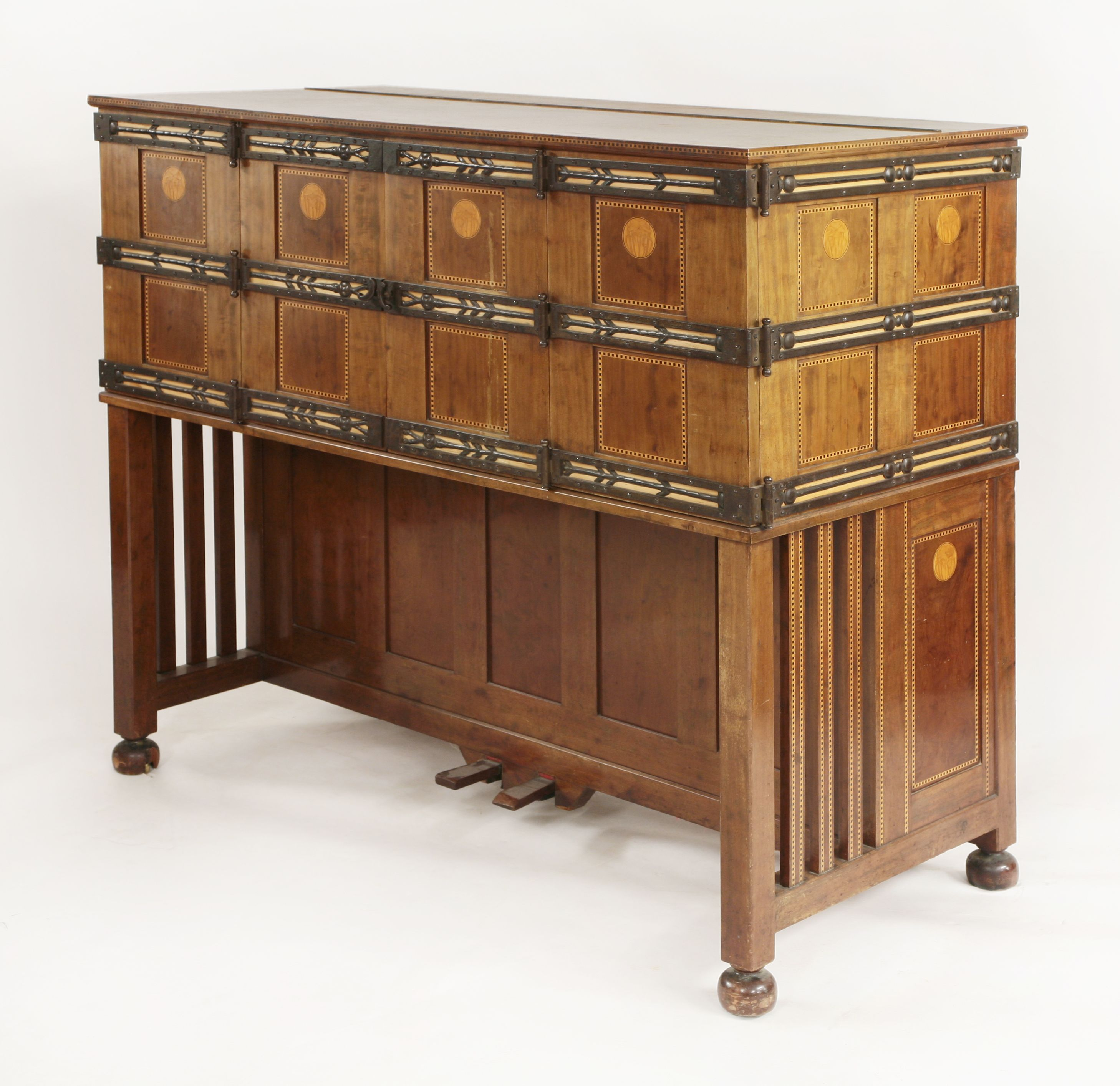 Piano Furniture An Arts And Crafts Piano Designed By Charles Robert Ashbee For