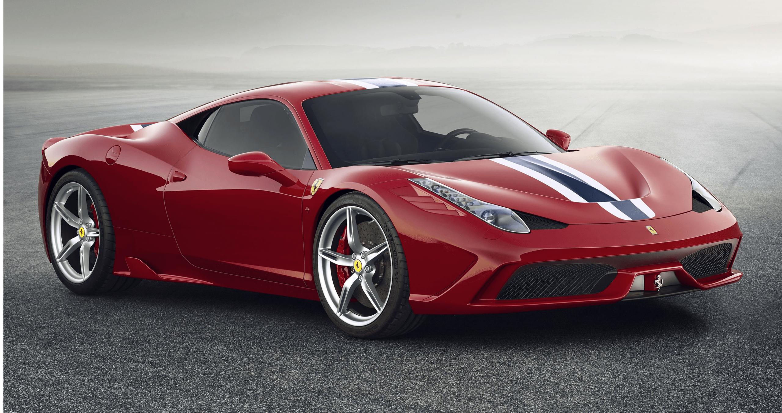2021 Ferrari 458 Spider Style