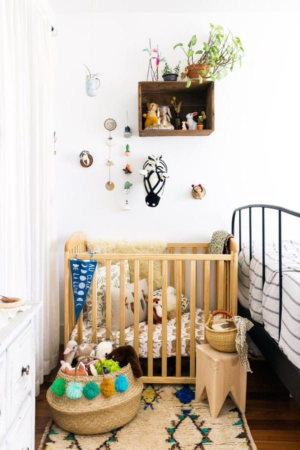 How To Fit A Nursery Into Your Very Small E Apartment Therapy
