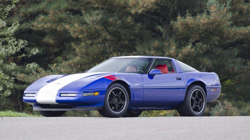 1996 Chevrolet Corvette Grand Sport Coupe presented as Lot