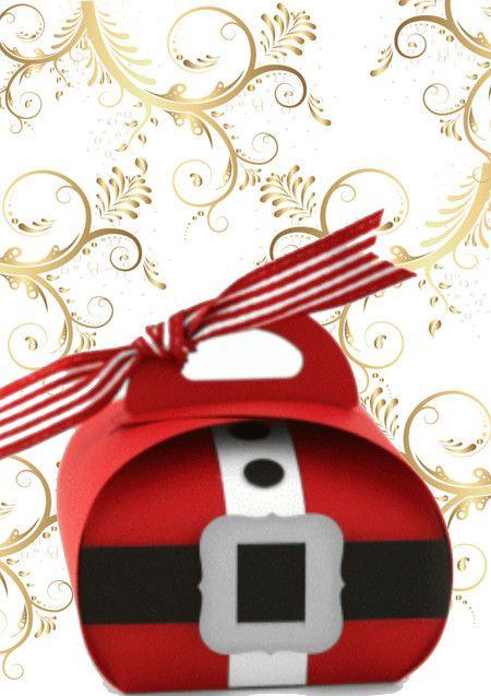 Molde Caixa Lembrancinha Para O Natal Caixas De Natal