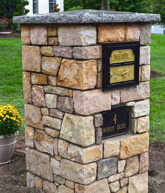 This Mailbox Elevates The Look Of The Property The