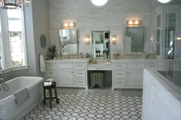 Tasty Master Bathroom Vanity With Makeup Area Bathroom Vanity With