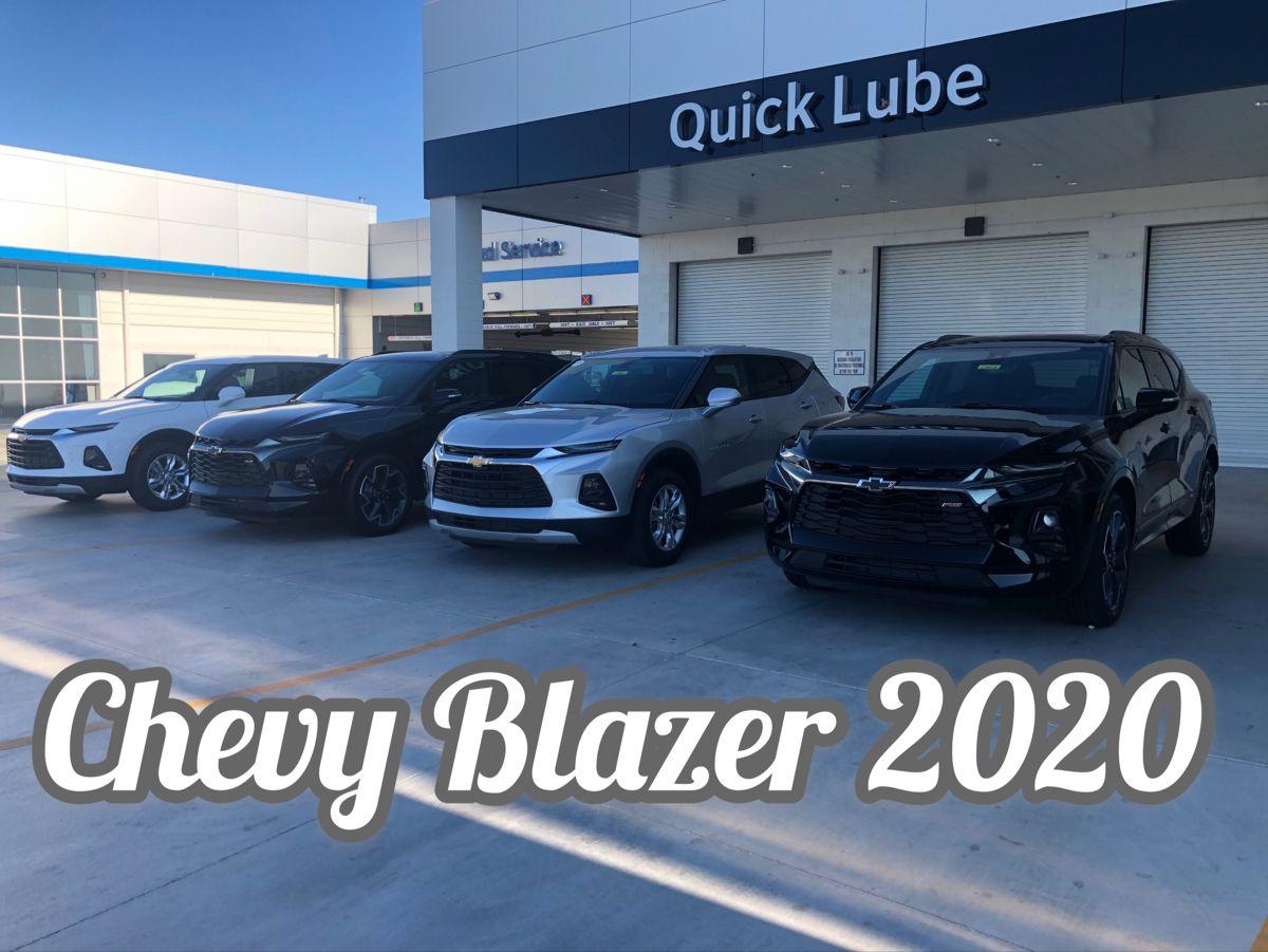 Chevy Blazer 2020 in 2020 Chevy, Buick, Chevrolet