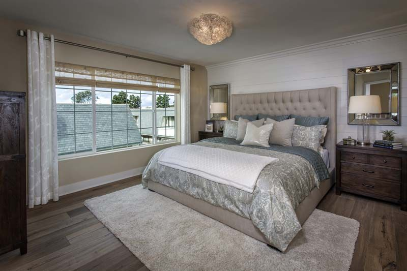 Ziani Master Bedroom in La Jolla, Ca! Lennar SoCal Master Bedrooms