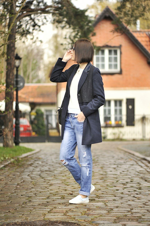 Buty Slip On Stylizacja Na Co Dzien Shiny Syl Blog Vans Slip On Slip On Fashion Blogger