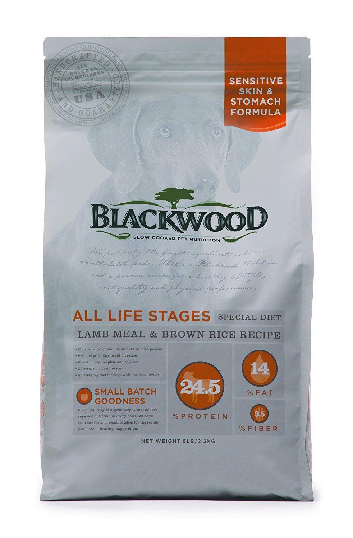 Blackwood pet food 075492052226 lamb meal and recipe