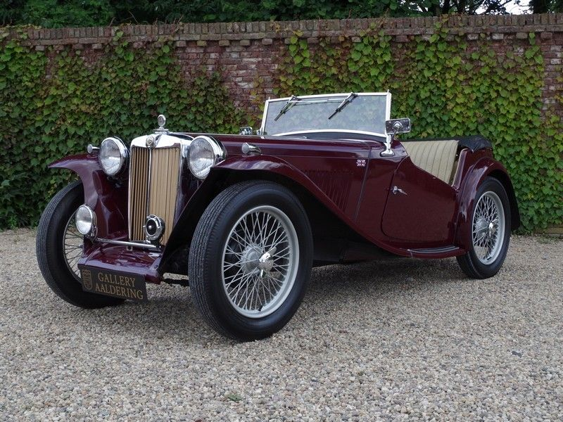 MG TC Cabriolet 1946 | Gallery Aaldering | Antique cars | Pinterest ...