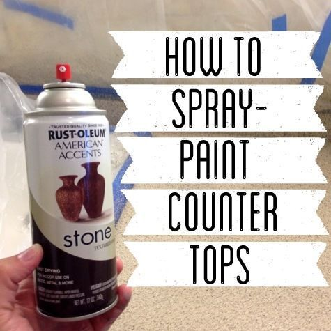 How To Spray Paint Countertops Home Improvement Spray