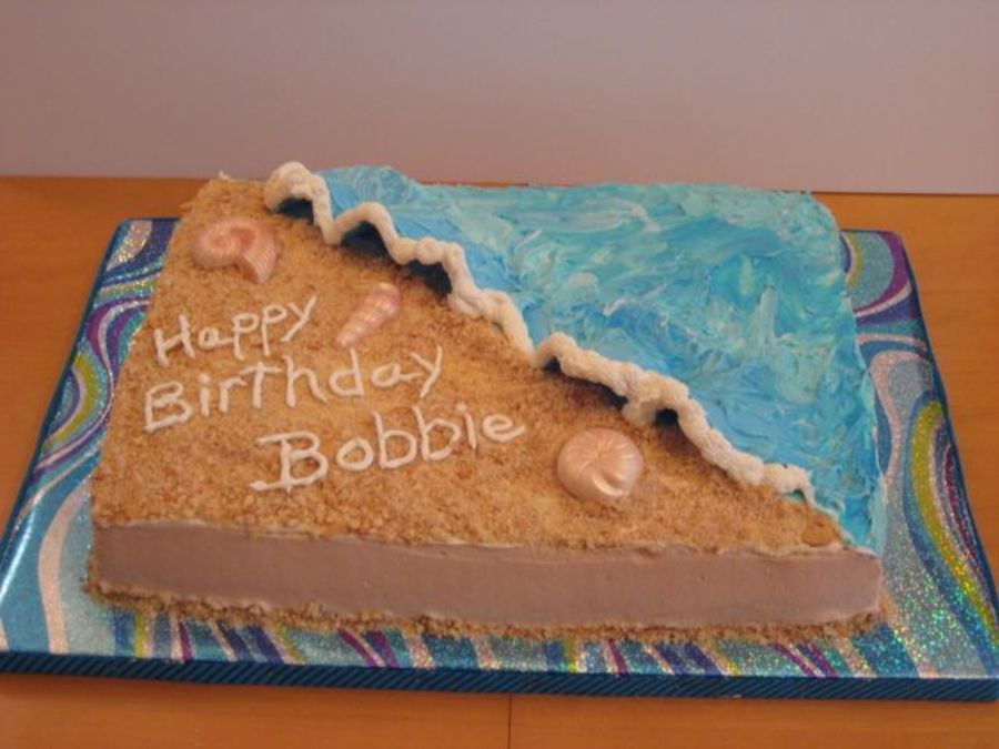 Birthday Shores With Images 14th Birthday Cakes Beach