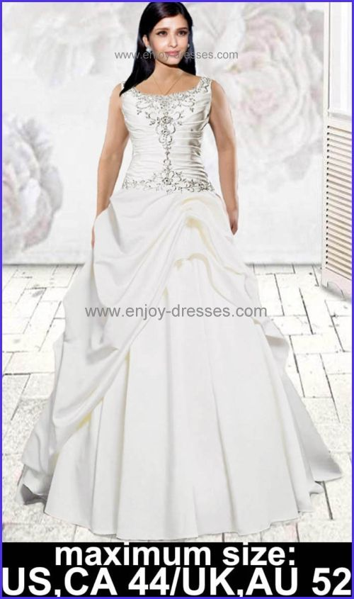 Pretty Plus Size Wedding Dresses Maximum Sizecanadaus 44uk