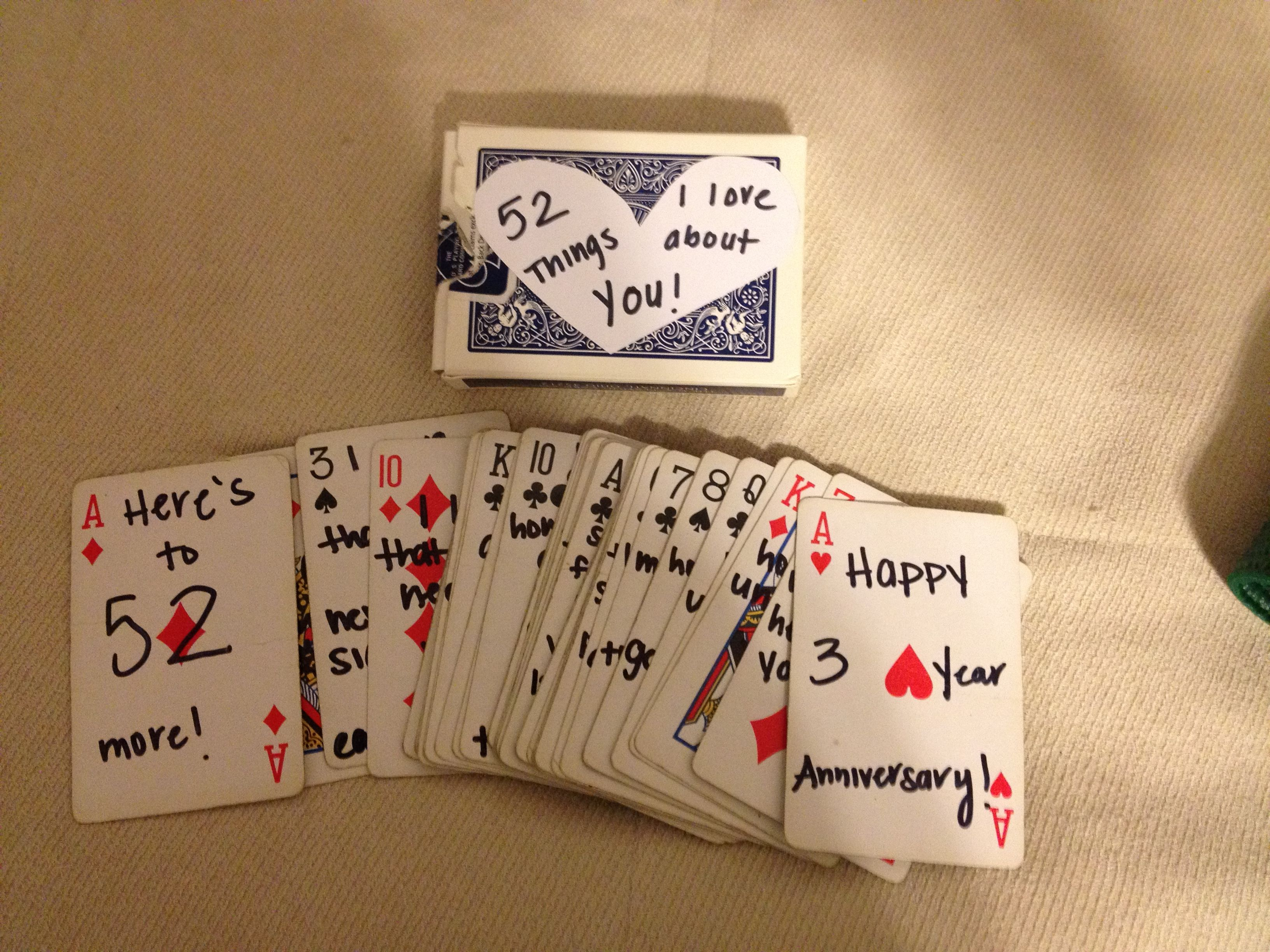 52 Things I Love About You Cute And Creative Gift Idea For Our