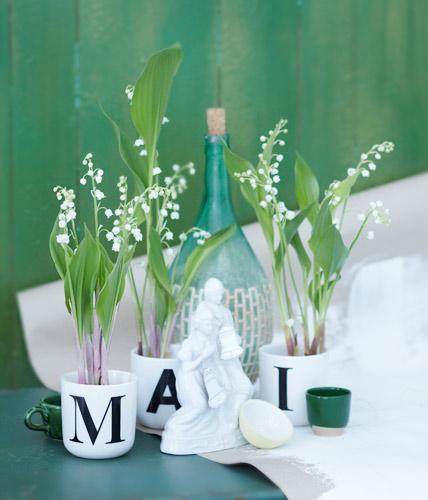 Maiglöckchen - wunderschöne Dekoiedeen mit lieblichen Blüten | Craft