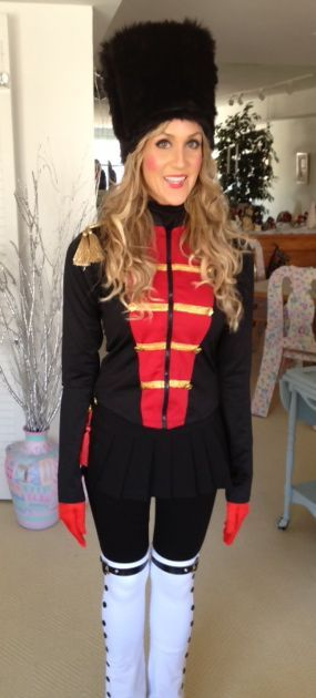 Ideas u0026 Accessories for your DIY Nutcracker Halloween u0026 Christmas SantaCon Costume  sc 1 st  Pinterest & DIY Nutcracker Costume | Pinterest | Halloween christmas Costumes ...