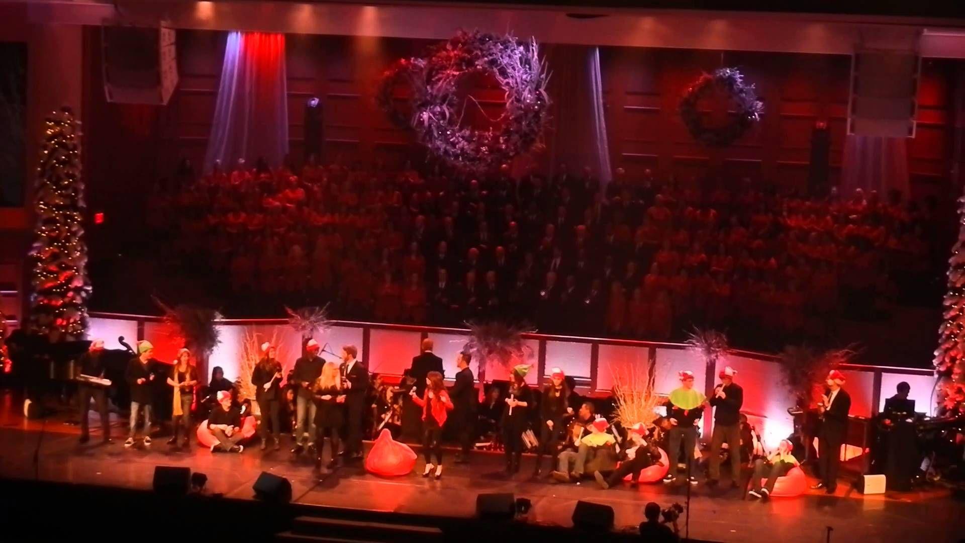 All I Want For Christmas Is You A Funny Presentation By Mt Paran Choir Christmas Concert Choir Presentation