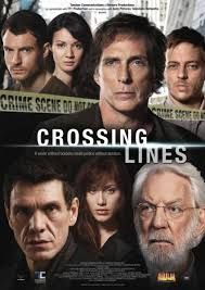 crossing lines.