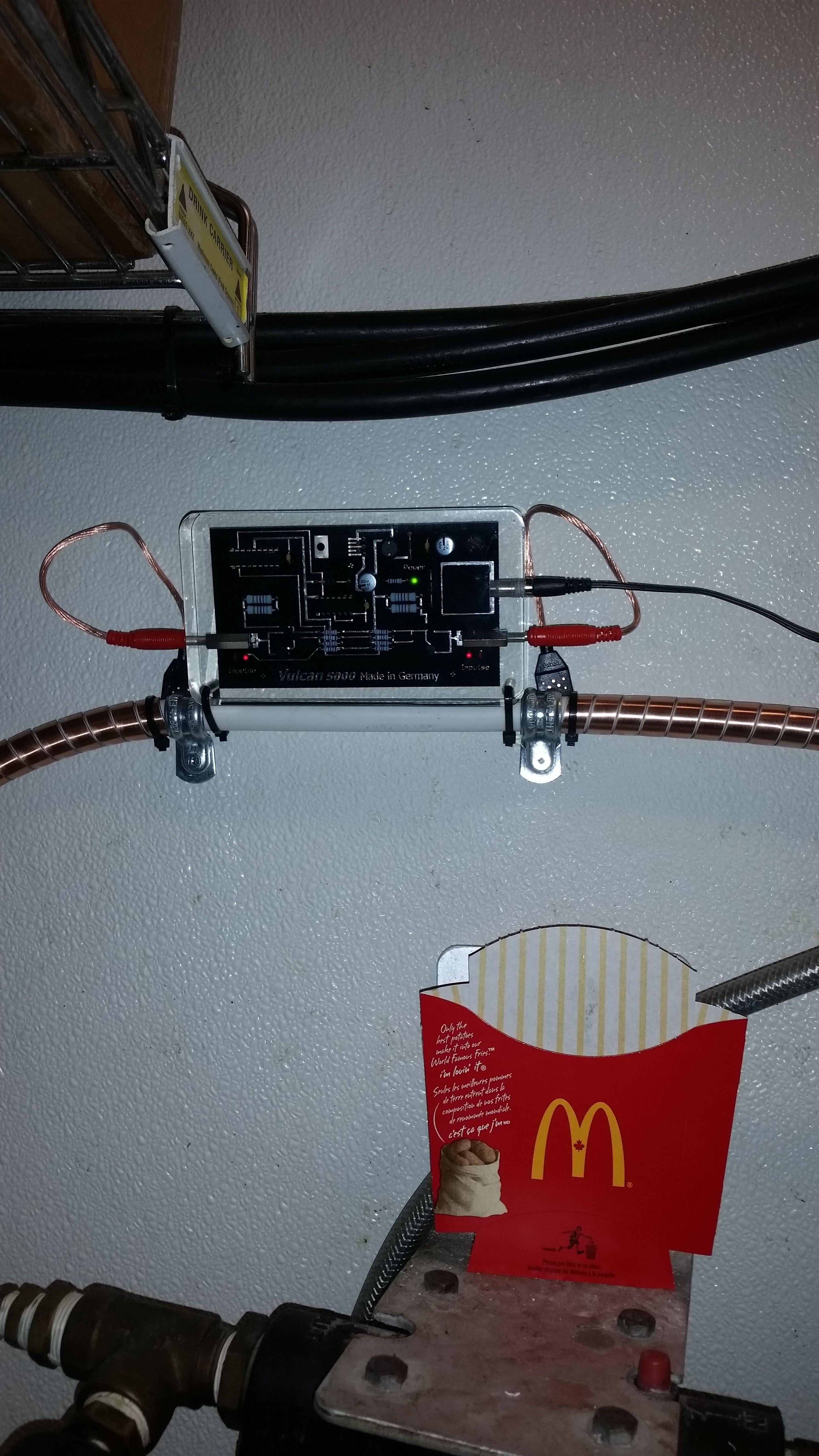 Vulcan5000 Install McDonald's Orillia April 14, 2015