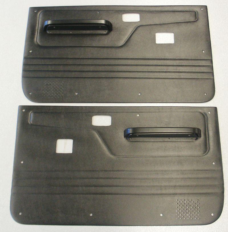 1983 1988 Ford Bronco Ii And Ranger Door Panels Full Power Black Bronco Ii Ford Bronco Ii Ford Bronco