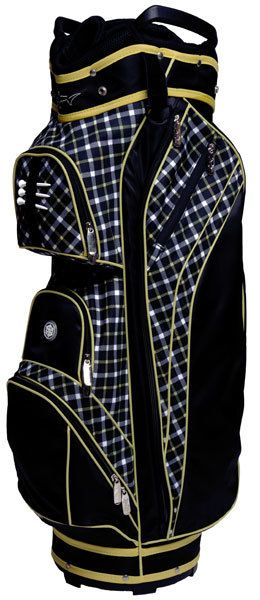New from the Greg Norman golf collection! This fashion women's 14-way golf bag features full length dividers, zip off ball pocket with logo capability, seven easy access pockets, thermal-lined cooler