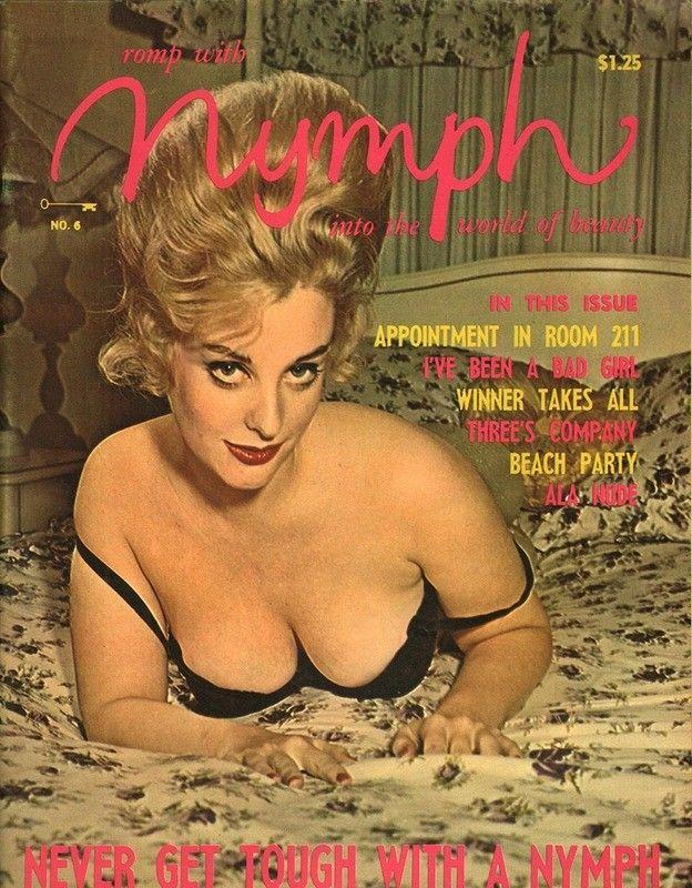 Vintage adult magazines