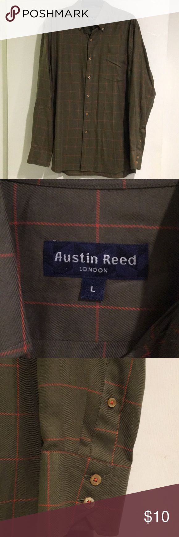 Austin Reed Men S Long Sleeve Button Down Shirt Austin Reed Men S Long Sleeve Button Down Shirt English Fit Dark Gr Button Down Shirt Austin Reed Long Sleeve