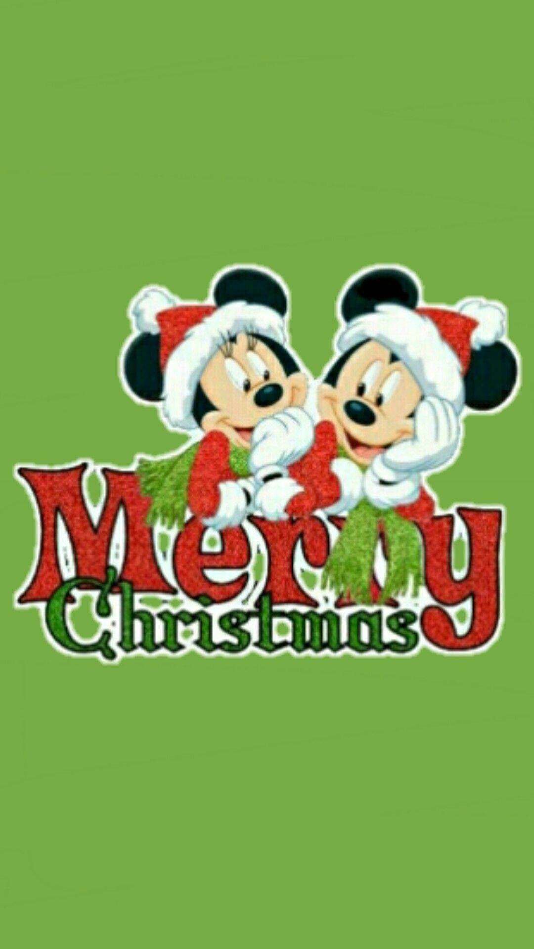 Pin By Wamidh Taka On Cute Navidad Disney Merry Christmas Animated Christmas Mickey Christmas