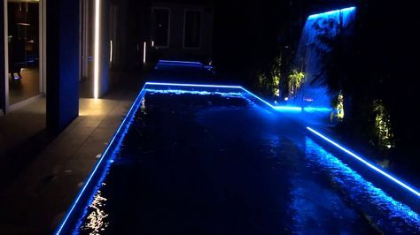 Pool Lighting LED Strip Light | Dream House in 2019 | Swimming pool ...
