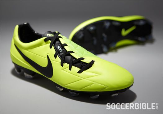 Nike T90 Laser IV ACC Football Boots - Volt/Black/Citron--getting