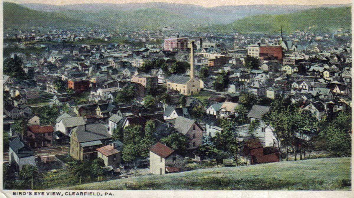 Image result for bigler pennsylvania 1910 Paris skyline