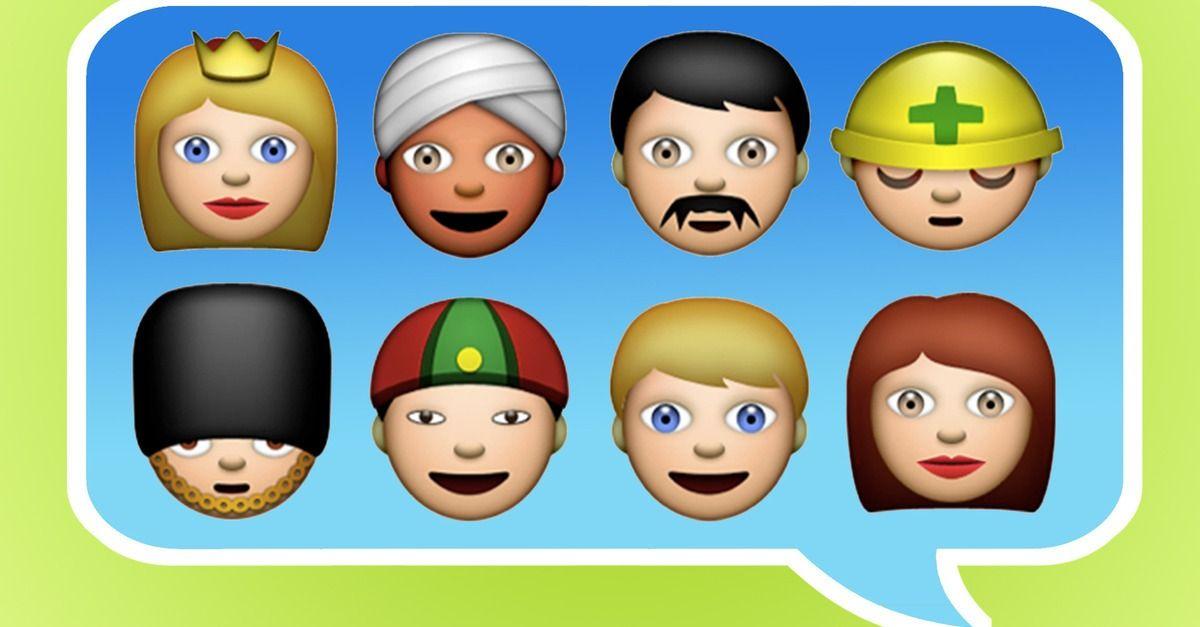 Apple Emojis Should Be More Ethnically Diverse Emoji Apple Ios 7