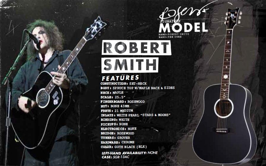 Schecter RS1000 Robert Smith | The Cure | Robert smith, James smith