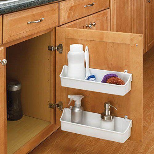 Amazon.com - Rev-A-Shelf 8  Door Storage Bins White - & Rev-a-Shelf Door Storage Trays - Set of 2 Rev-A-Shelf https://www ...