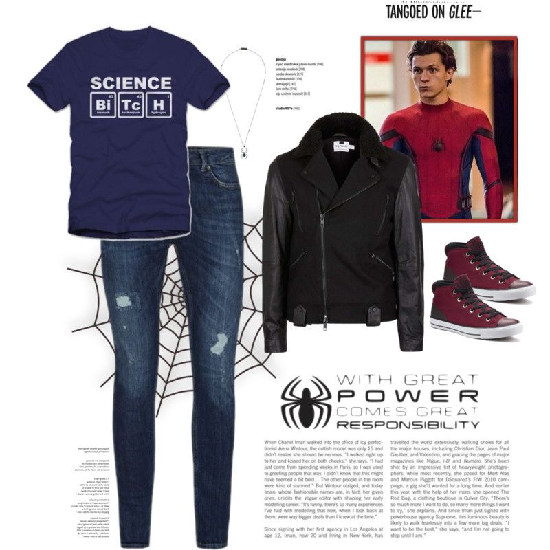 fa3cb05076b An outfit inspired by Peter Parker (Tom Holland) from Spiderman  Homecoming.  Items by Lanvin