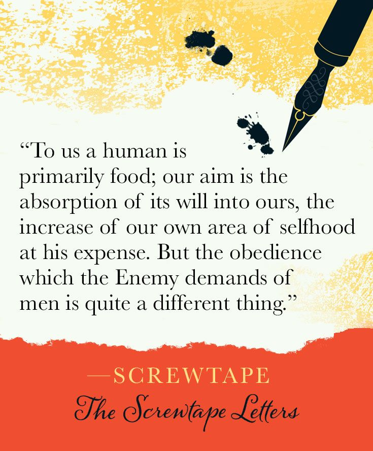 screwtape on obedience in the screwtape letters by c s lewis