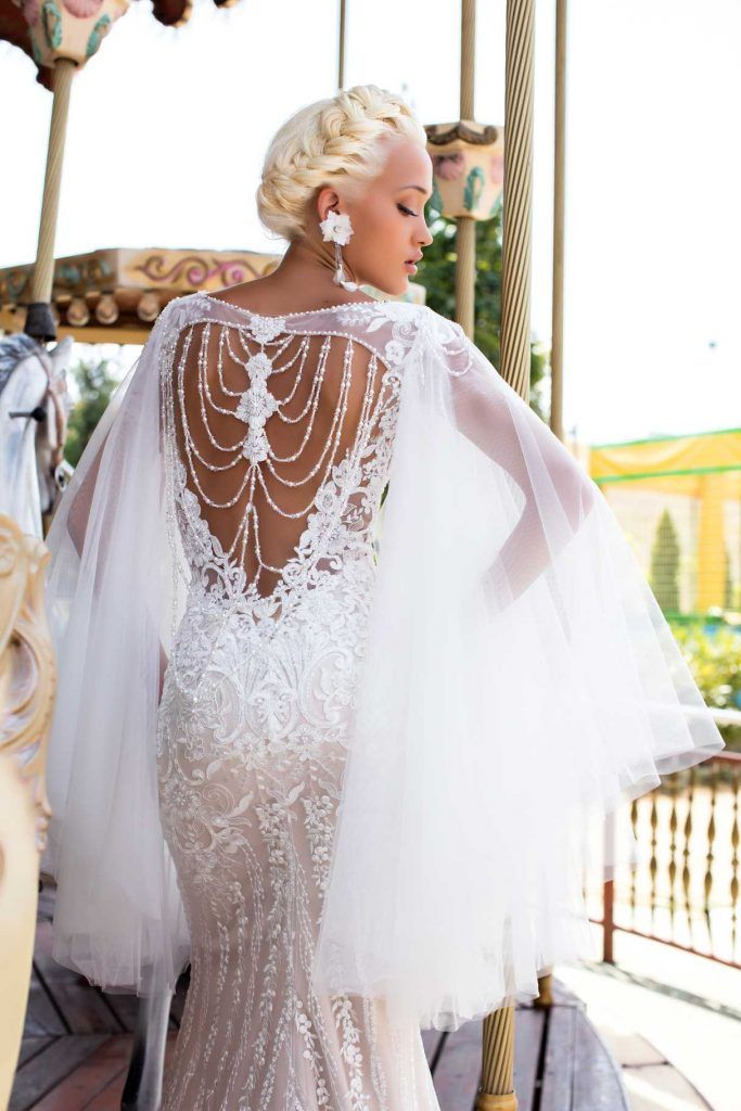 Braumode Pollardi | Brautkleid Naive Lavender | Kleid ...