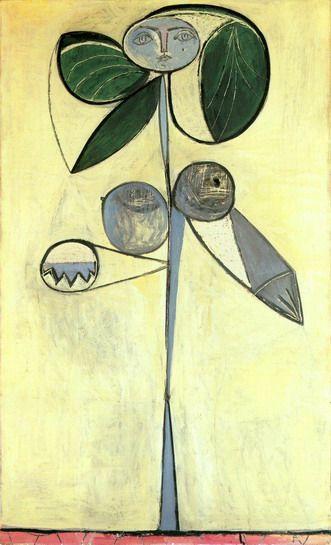 花の女:ピカソ | ペインティング, 美術家, ジロー