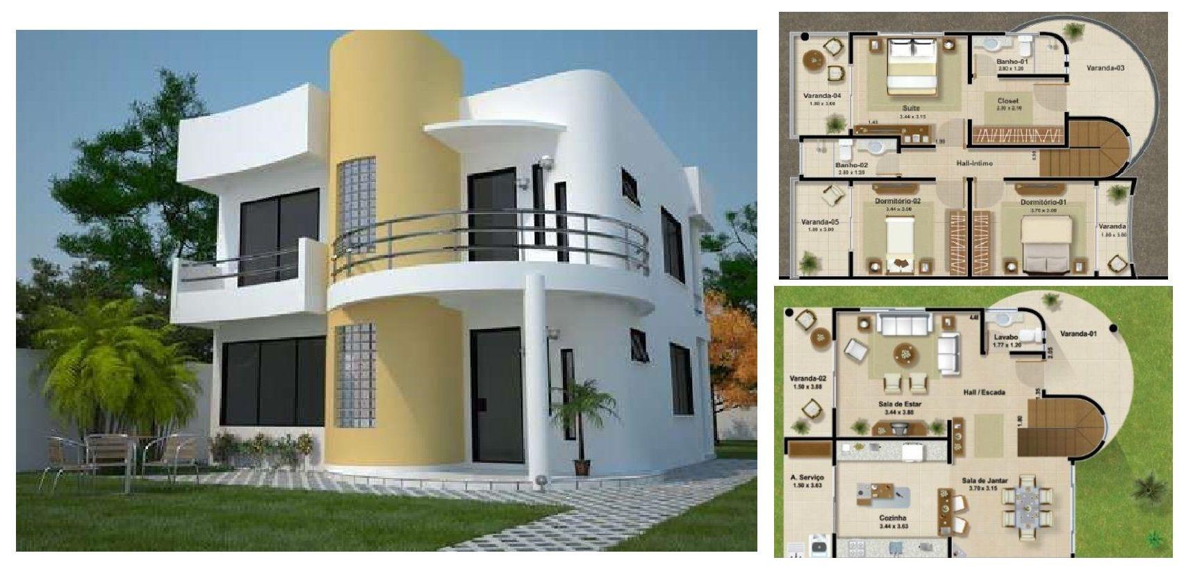 Victor Casas De Dos Pisos Diseno Casas Modernas Planos De Casas